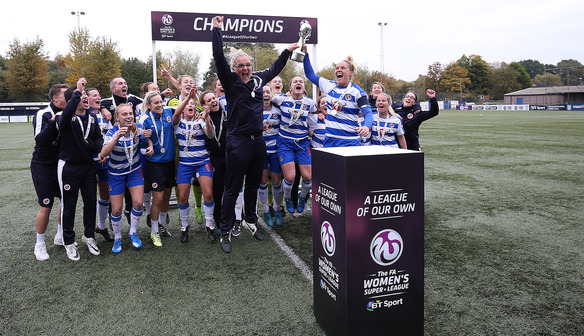 Aston Villa Ladies v Reading FC Women: WSL 2