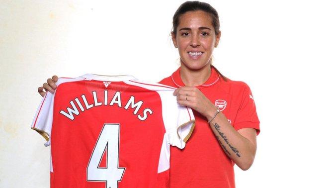 Fara Williams Arsenal