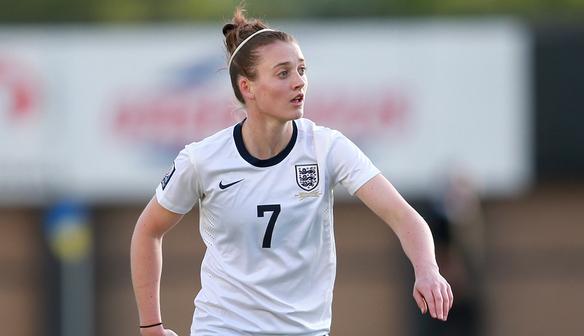 Soccer - 2015 FIFA Women's World Cup - Qualifying - Group Six - England v Ukraine - Greenhous Meadow Stadium