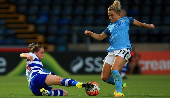 WSL 1: Reading FC Women v Manchester City Women
